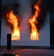 fuoco finestre