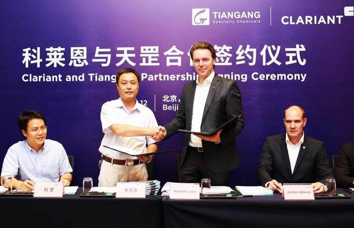 Clariant JV Cina