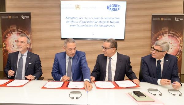 Magneti Marelli Marocco accordo