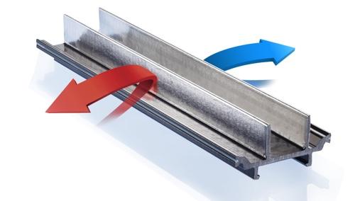 Taglio termico con pellicola basso emissiva - Aeratore termico per finestra ...