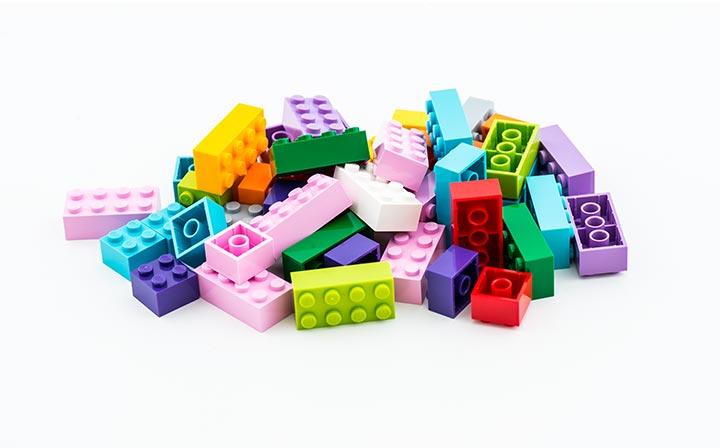 Lego mattoncini