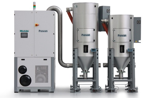 Piovan Modula Drying System New 2015